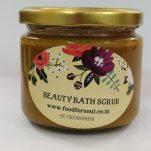 beauty bath scrub